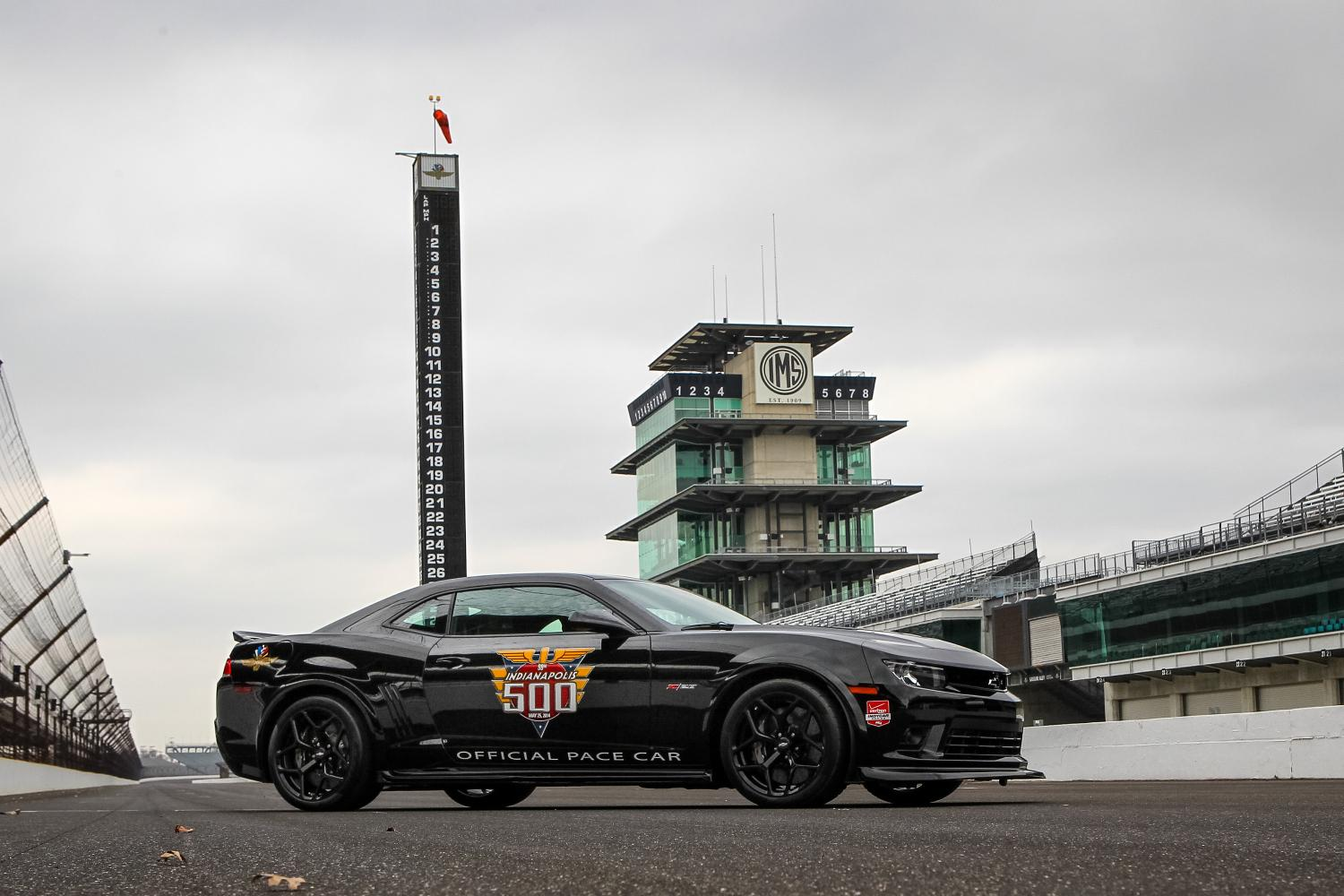 2014 Chevrolet Camaro Z 28 Indy 500 Pace Car Unveiled