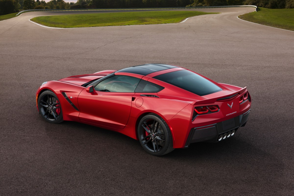 2014 chevrolet corvette c7 stingray debuts in detroit autoevolution. Black Bedroom Furniture Sets. Home Design Ideas
