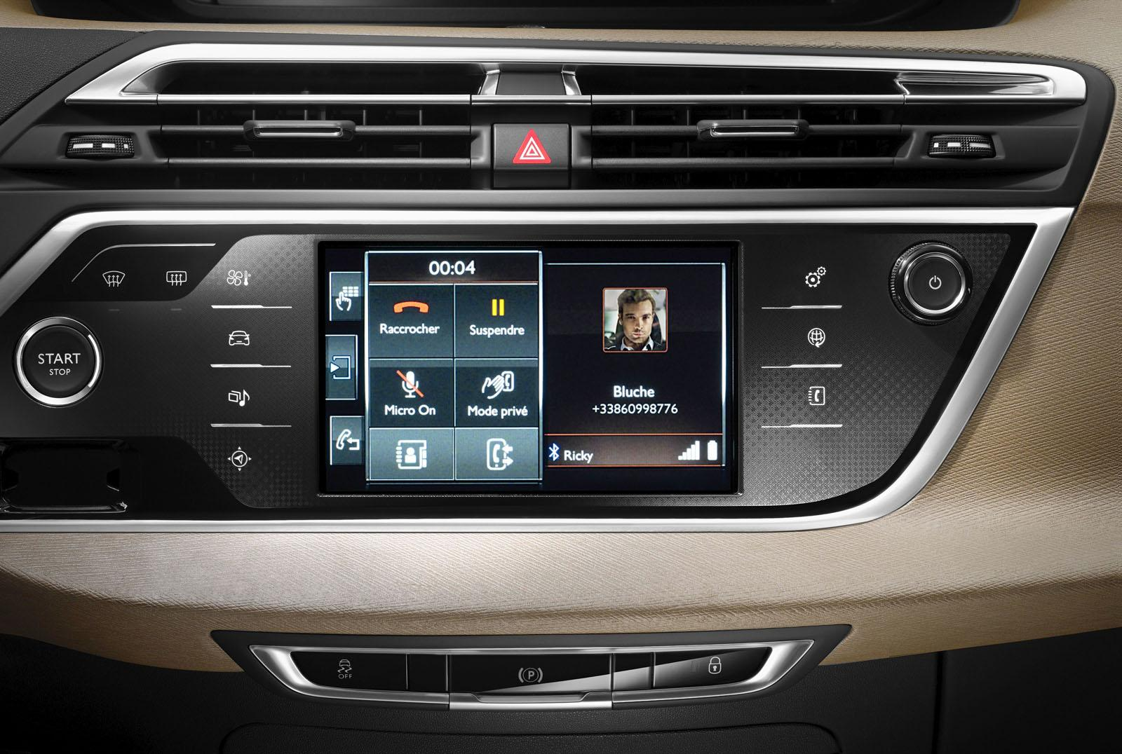 2014 citroen grand c4 picasso unveiled video photo for Interieur nouveau 5008
