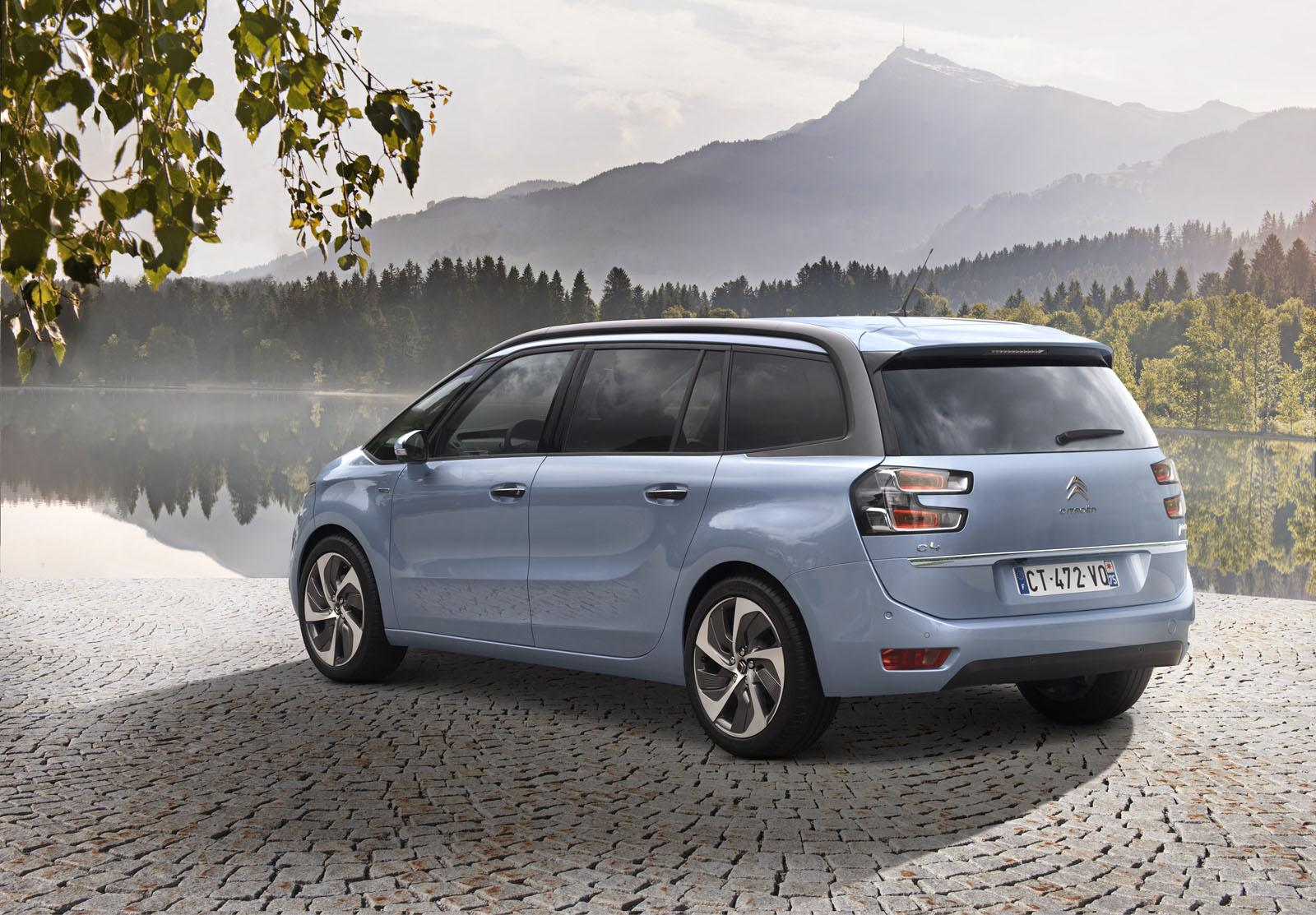 2014 citroen grand c4 picasso unveiled video photo. Black Bedroom Furniture Sets. Home Design Ideas