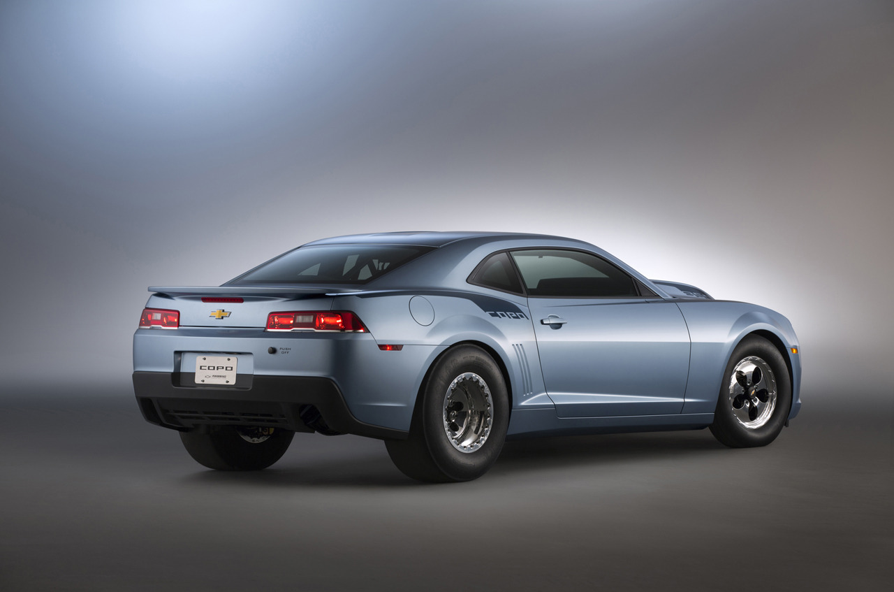 2014 COPO Camaro to Be Unveiled at SEMA - autoevolution