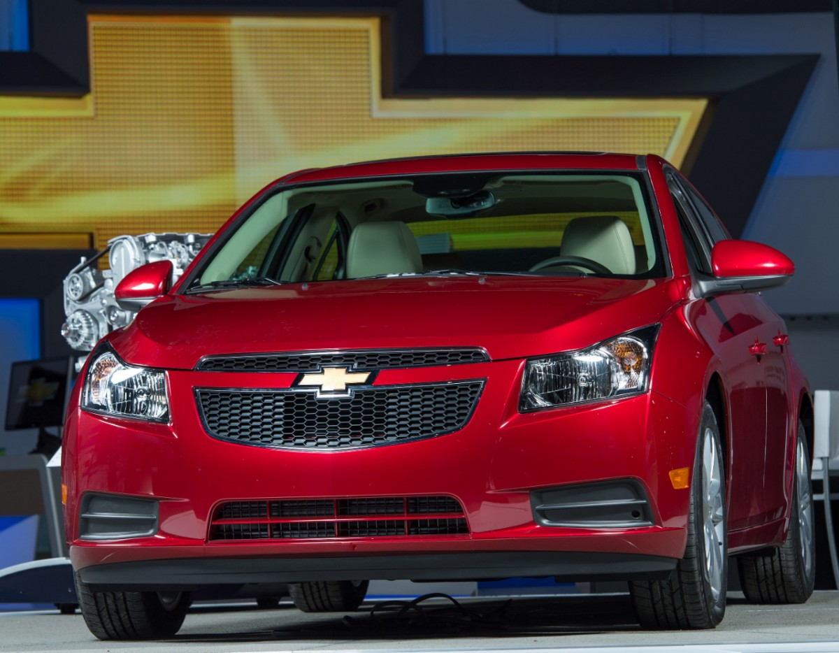 2014 cruze clean turbo diesel rated at 46 mpg autoevolution. Black Bedroom Furniture Sets. Home Design Ideas