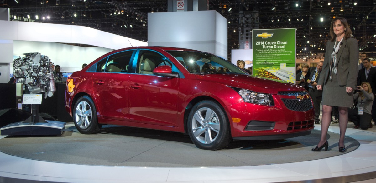 2014 Cruze Clean Turbo Diesel Rated at 46 MPG  autoevolution