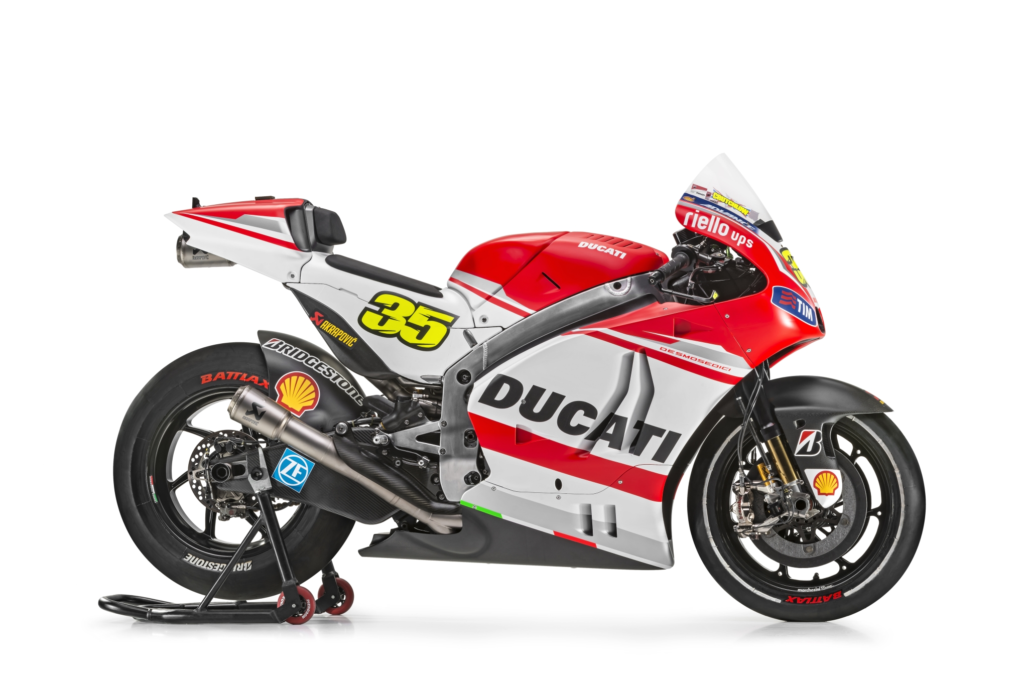 2014 Ducati MotoGP Bikes in Sizzling Hot Pictorial ...