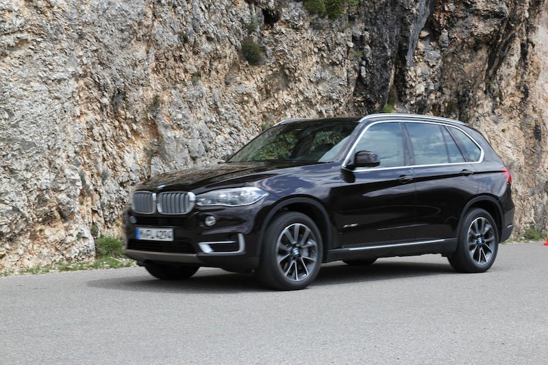 2014 F15 BMW X5: Real World Pictures in the Mountains - autoevolution