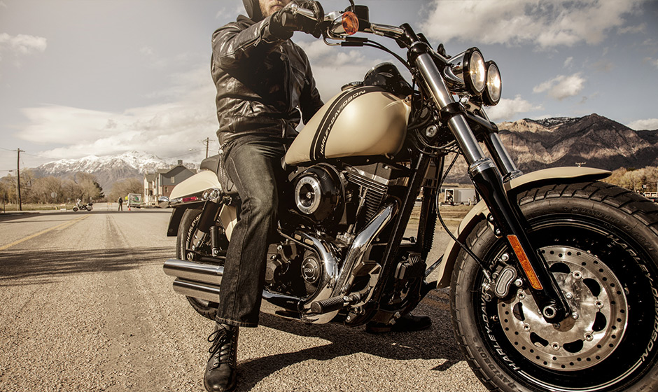 2014 Fat Bob Fxdf Carries On The Harley Davidson Bobber