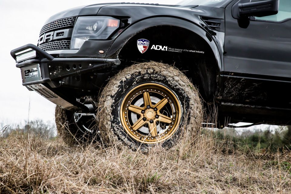 2014 Ford F 150 Raptor On Adv 1 Wheels Autoevolution