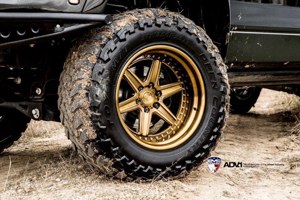 2014 ford f-150 raptor on adv 1 wheels