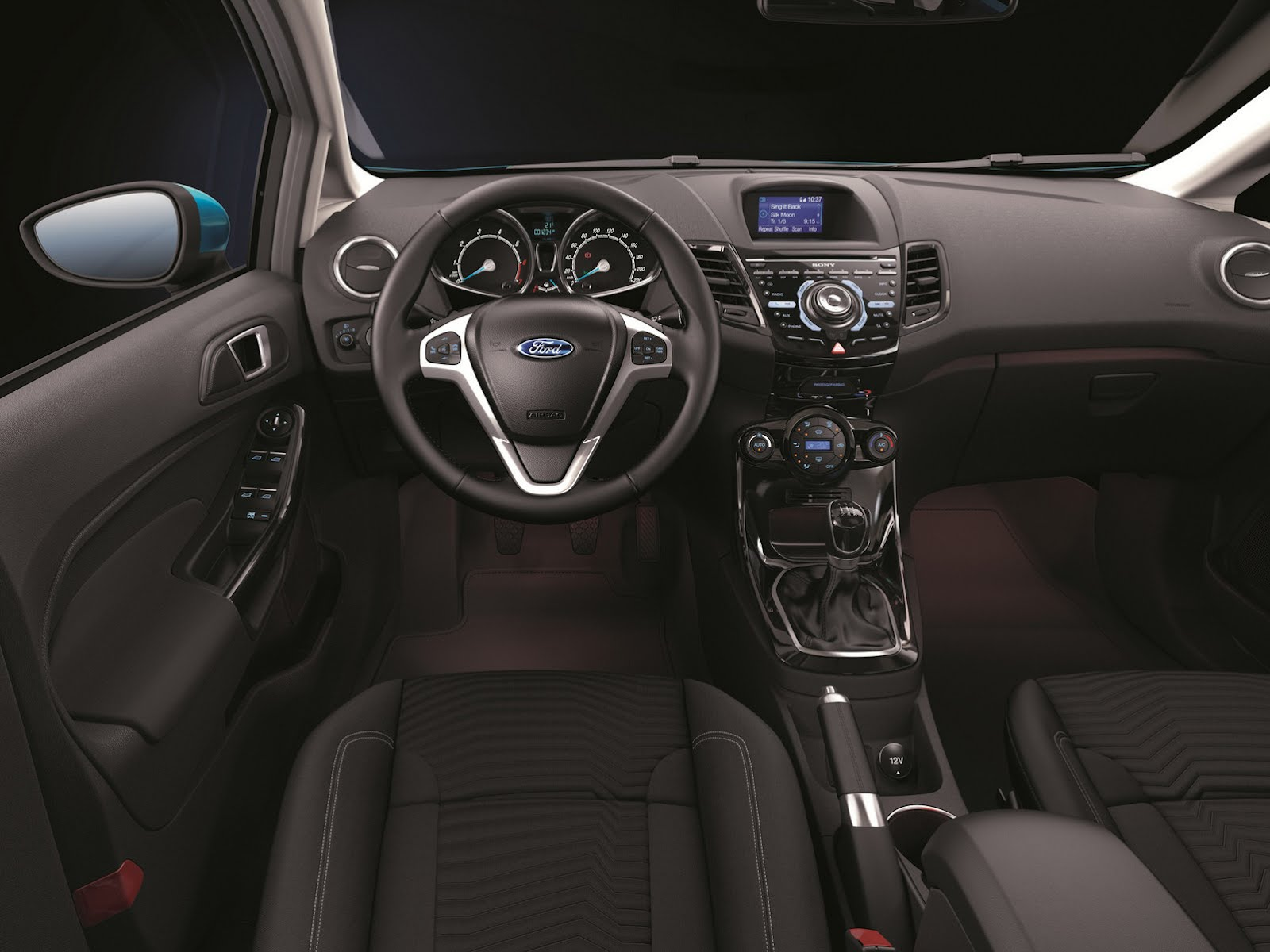 2014 Ford Fiesta Facelift To Get 1 0-liter Ecoboost Turbo In Us