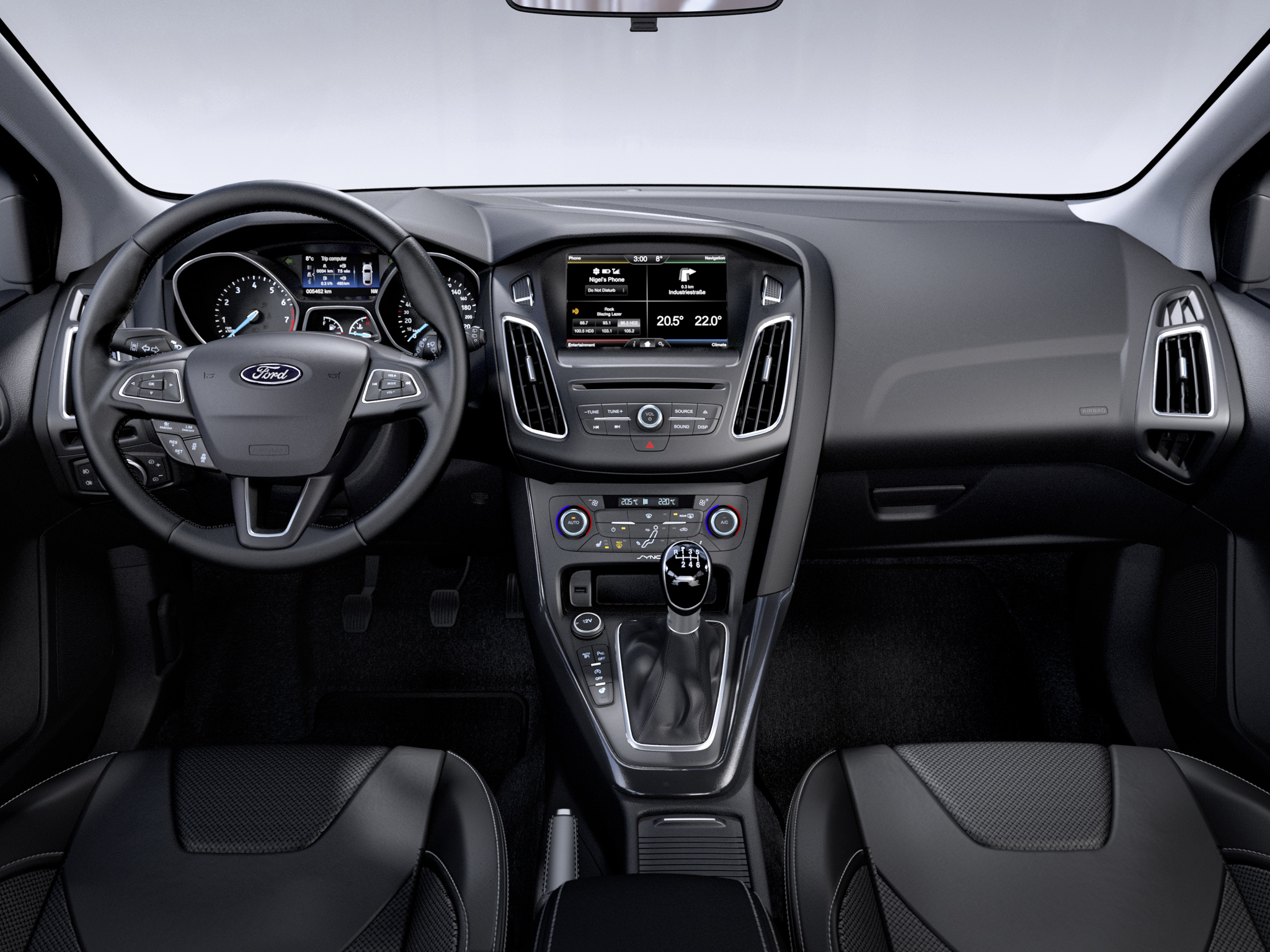 2014 Ford Focus Estate / Touring Leaked Photos Show New Interior and ...