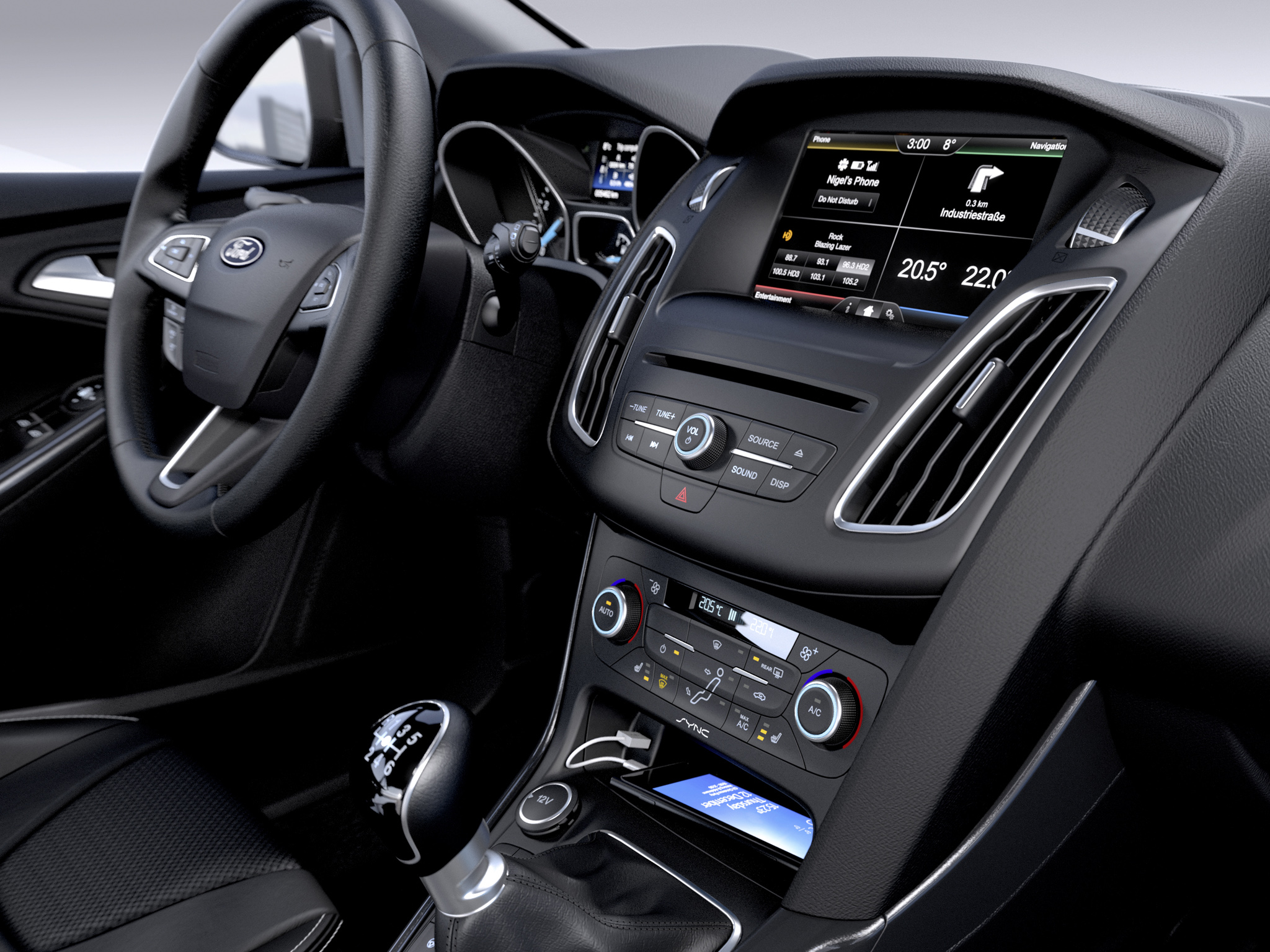 2014 ford focus estate touring leaked photos show new interior and redesigned grille autoevolution - Ford Focus 2014