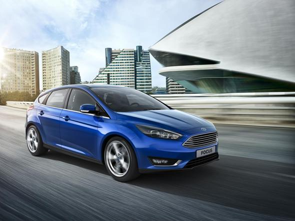2014 ford focus facelift hatchback first official photos leaked autoevolution. Black Bedroom Furniture Sets. Home Design Ideas