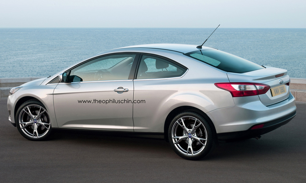 2014 Ford Focus Facelift Rendered As Coupe Autoevolution