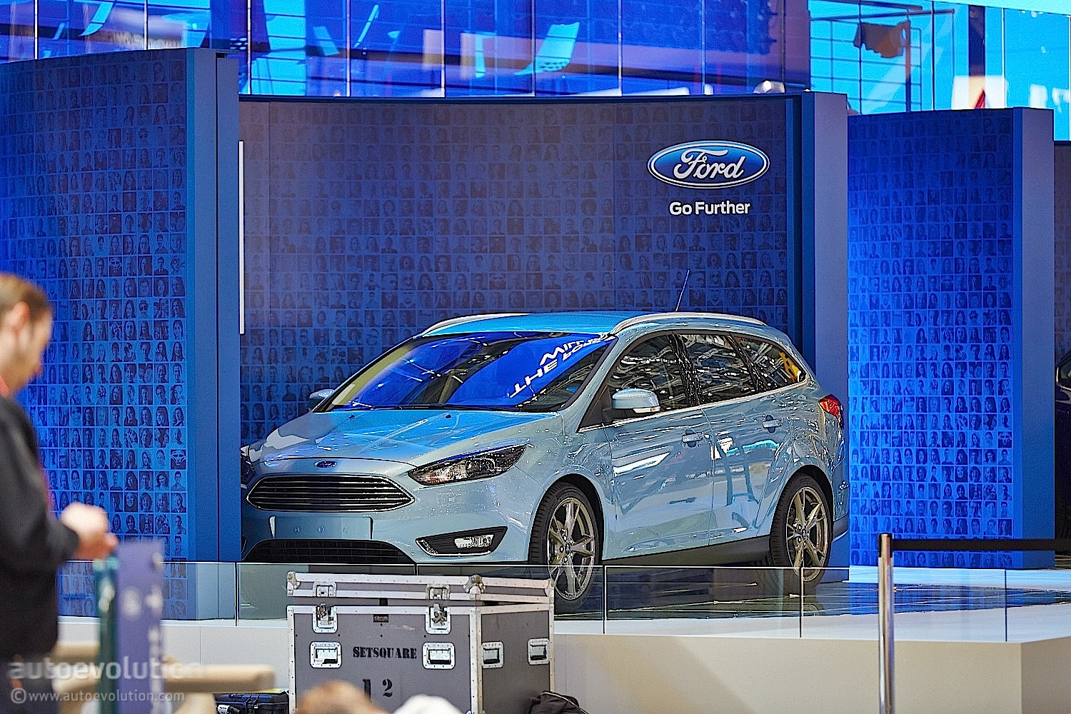 2014 Ford Focus Hatchback Estate Bow In Geneva Live