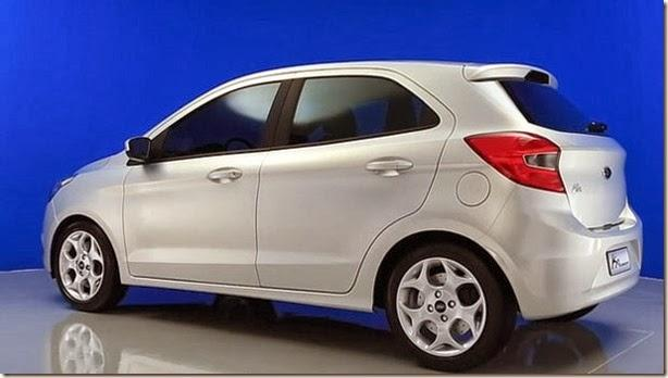 2014 Ford Ka Concept Revealed in Brazil, Also Previews Indian Figo