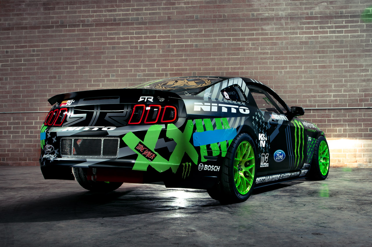Ford Mustang Rtr Is One Green Eyed Monster Autoevolution