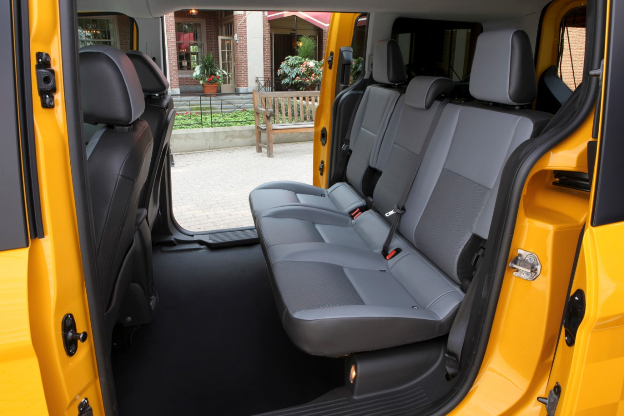 """2014 Ford Transit Connect """"Taxi of the Future"""" Revealed - autoevolution"""