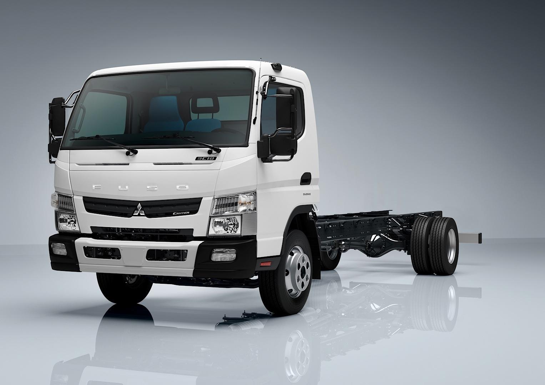 Mitsubishi Fuso Canter Debuts Down Under Autoevolution