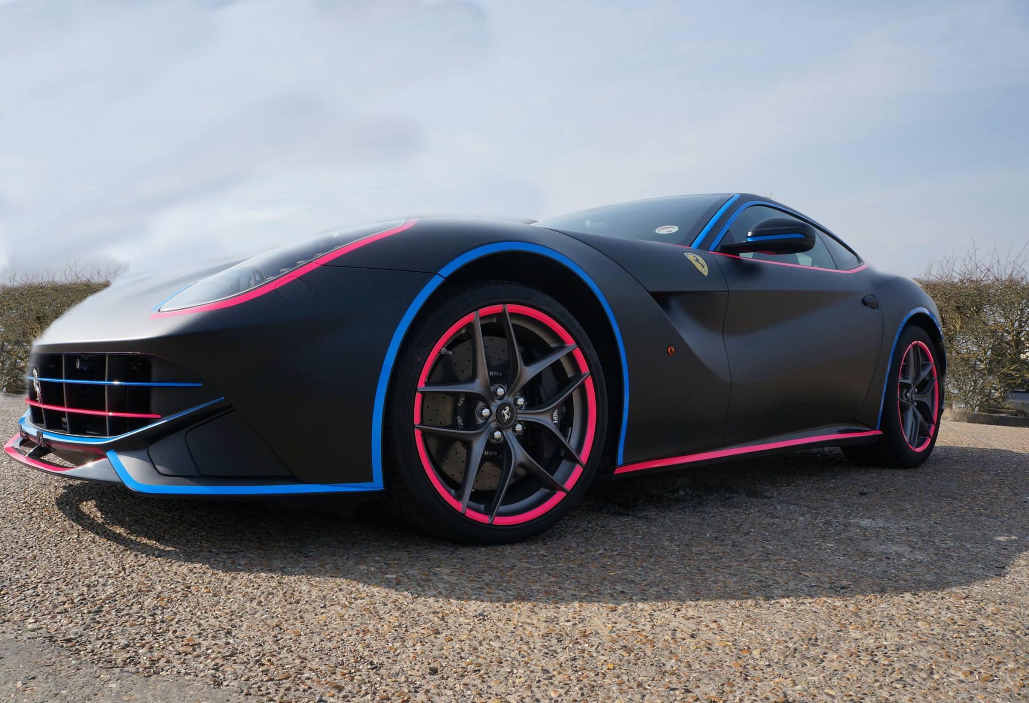 2014 Gumball 3000 Rally Wrap: Ferrari F12 Gets Miami Vice Look - autoevolution