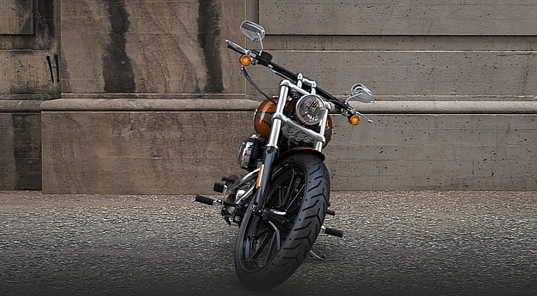 2014 Harley Davidson Breakout Is Full Of Mean Attitude