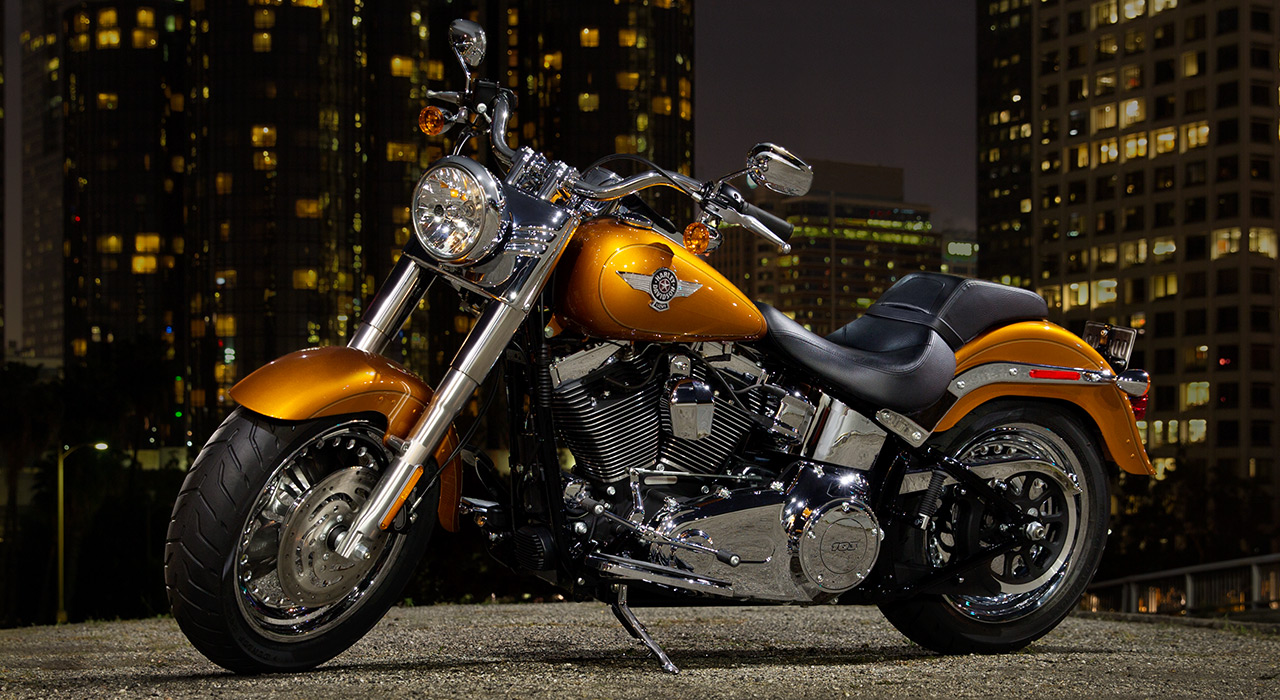 Harley Davidson: 2014 Harley-Davidson Softail Fat Boy FLSTF Preview