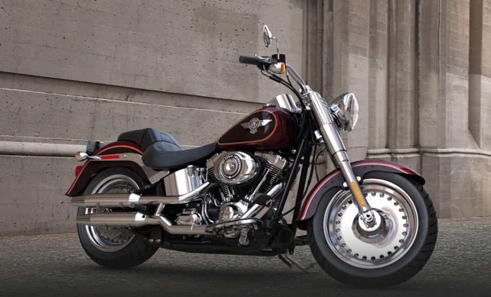 2014 Harley-Davidson Softail Fat Boy FLSTF Preview - autoevolution