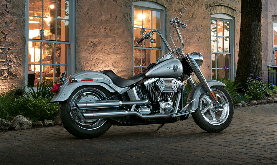 2014 harley davidson softail fat boy flstf preview autoevolution. Black Bedroom Furniture Sets. Home Design Ideas