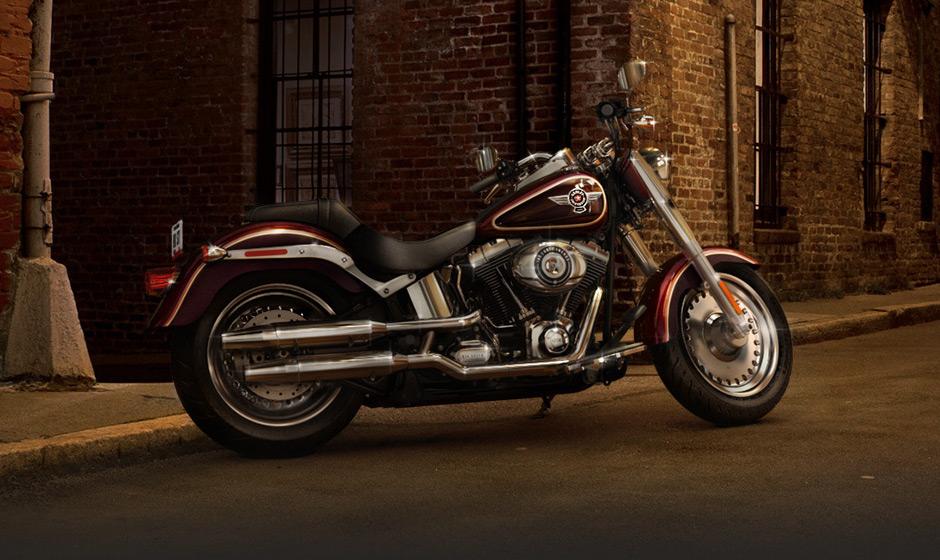 2014 Harley Davidson Softail Fat Boy Flstf Preview