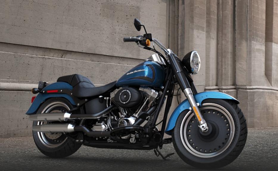 2014 Harley-Davidson Softail Fat Boy Special FLSTFB Makes Appearance ...