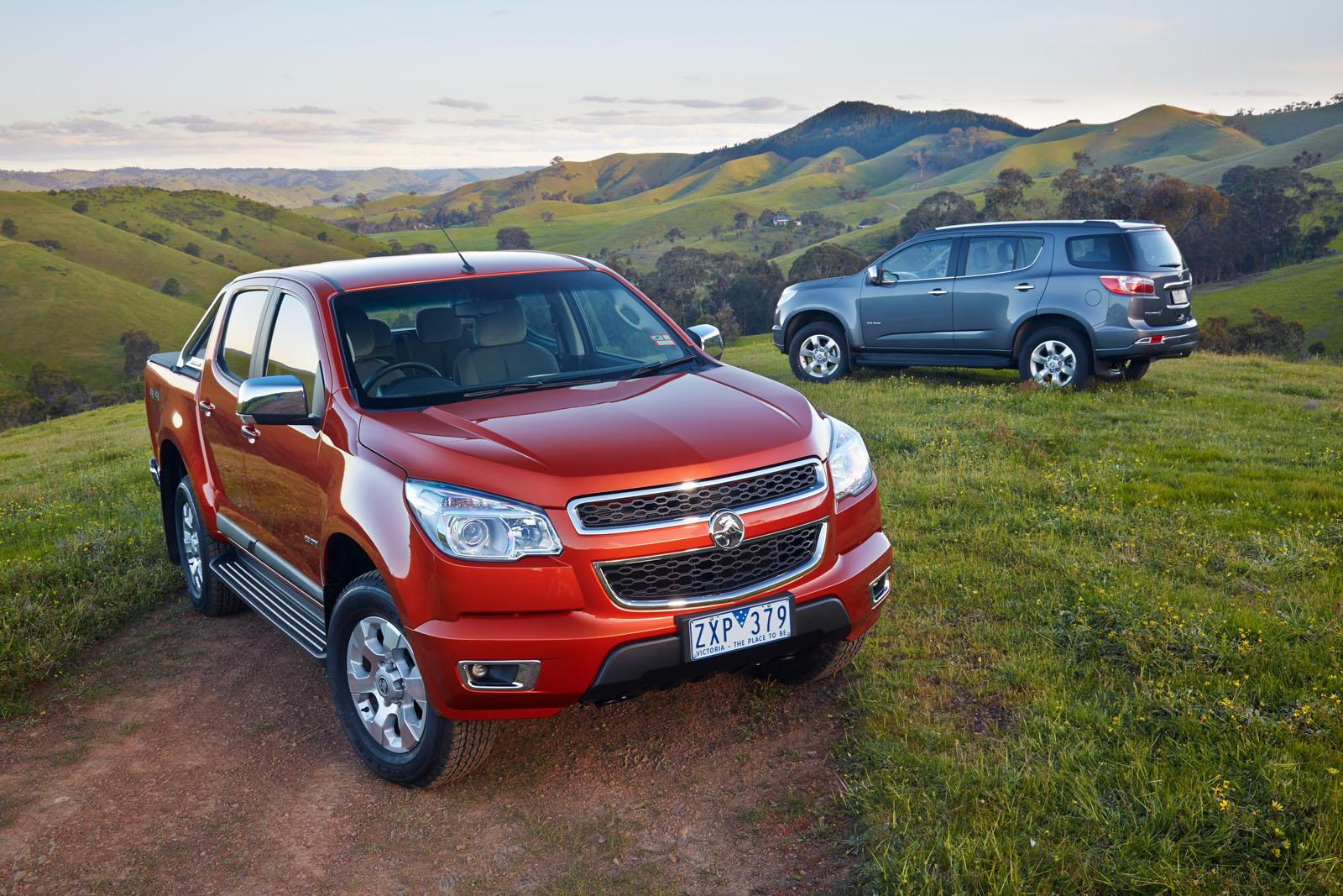 Holden Colorado Colorado Unveiled Photo Galley on 89 Toyota Pickup
