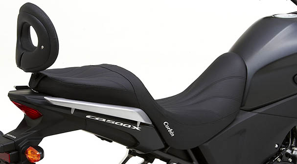 2014 Honda Cb500x Receives New Corbin Dual Seat