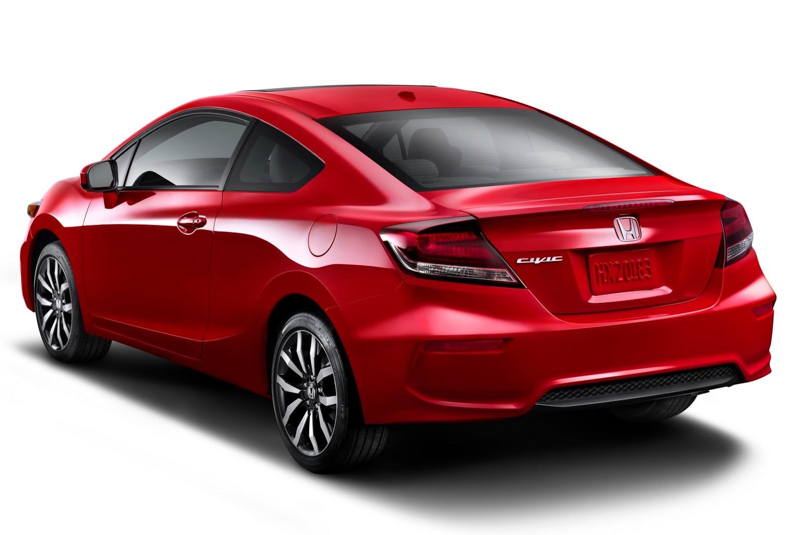 2014 Honda Civic Coupe At SEMA: New Looks And More