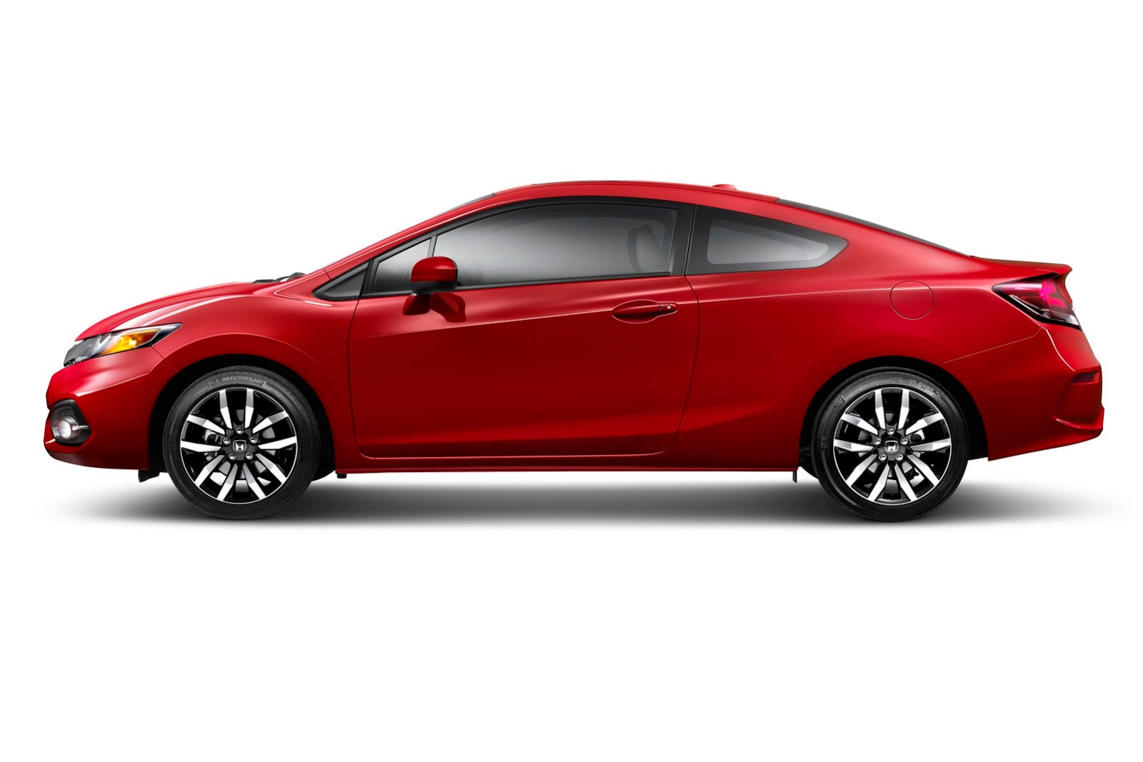 2014 honda civic coupe at sema new looks and more powerful si video   autoevolution