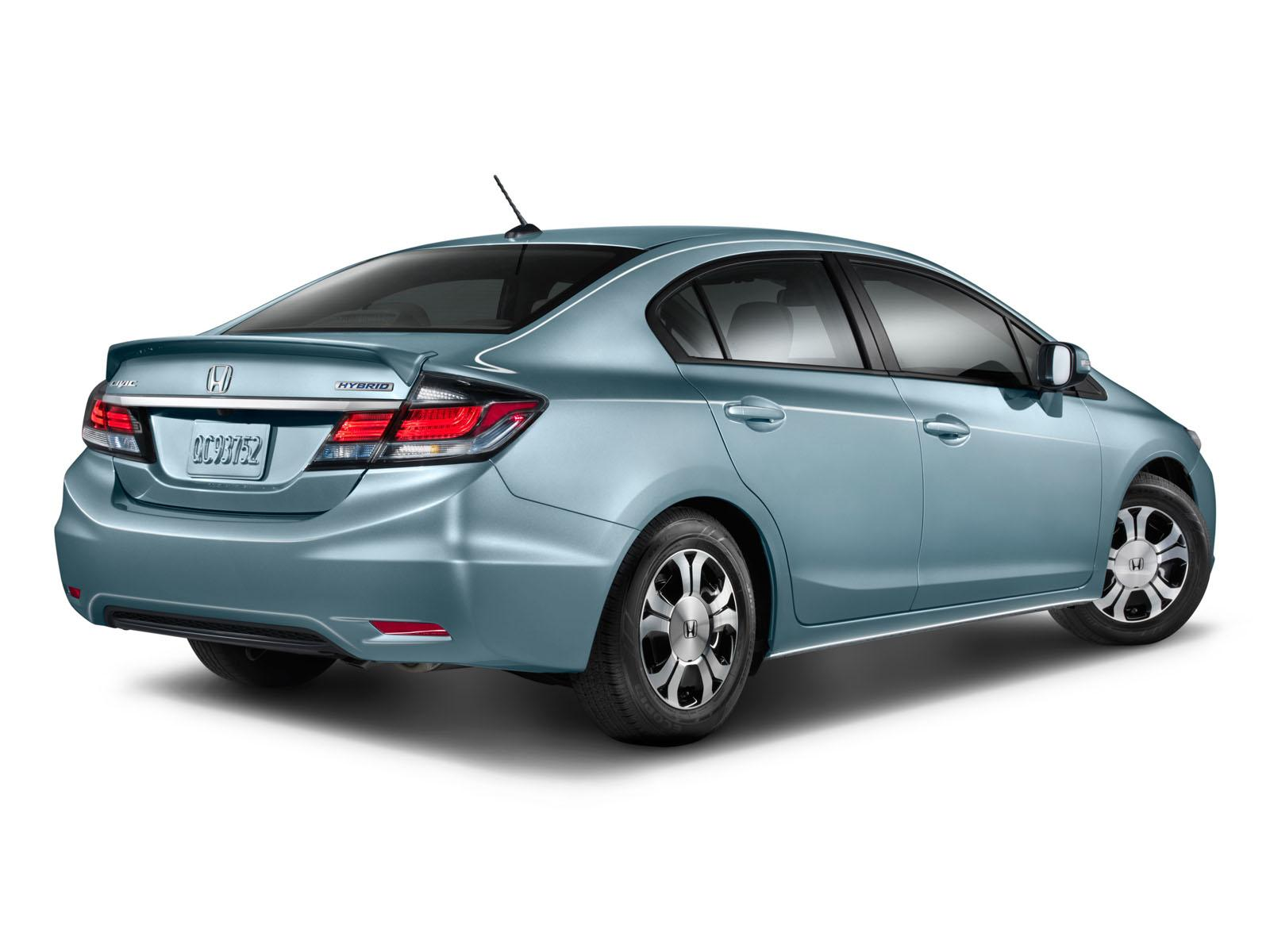 2014 Honda Civic Hybrid And CNG
