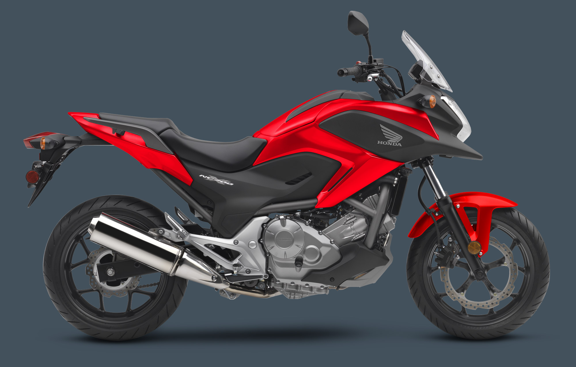 2014 honda nc700x and enduro ish all rounder autoevolution. Black Bedroom Furniture Sets. Home Design Ideas