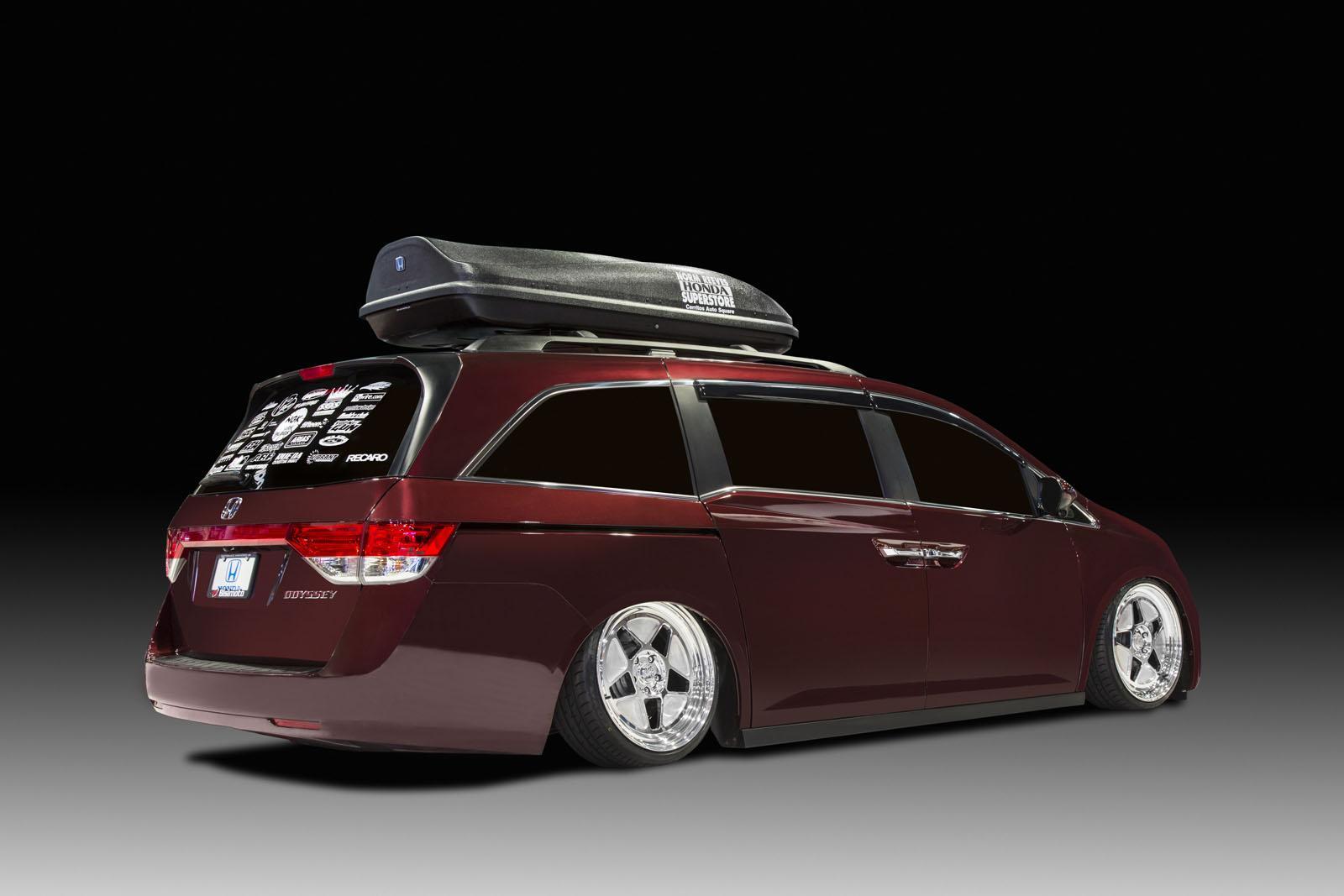 2014 Honda Odyssey Recalled for Airbag Problem - autoevolution