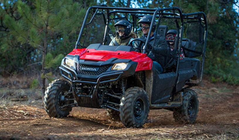 2014 Honda Pioneer 700-4  Fast Conversion From 2- To 4-seater