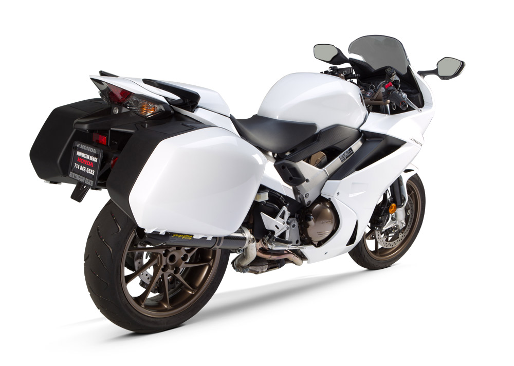 2014 Honda VFR800 Interceptor Gets 5 Extra HP from TBR S1R Exhaust ...