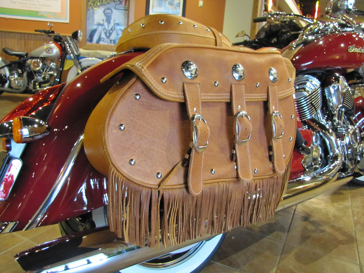 2014 Indian Chief Vintage, the National Motorcycle Museum ...