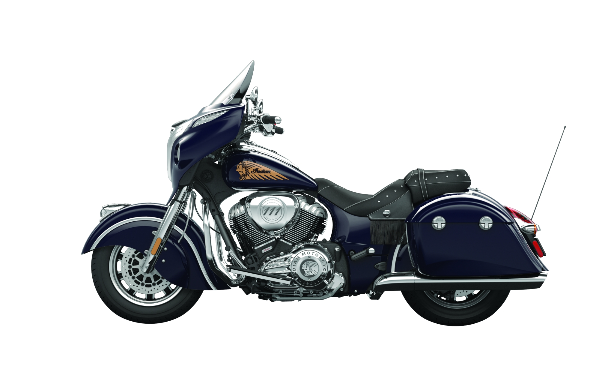 2014 Indian Chieftain The Flagship Cruiser Machine
