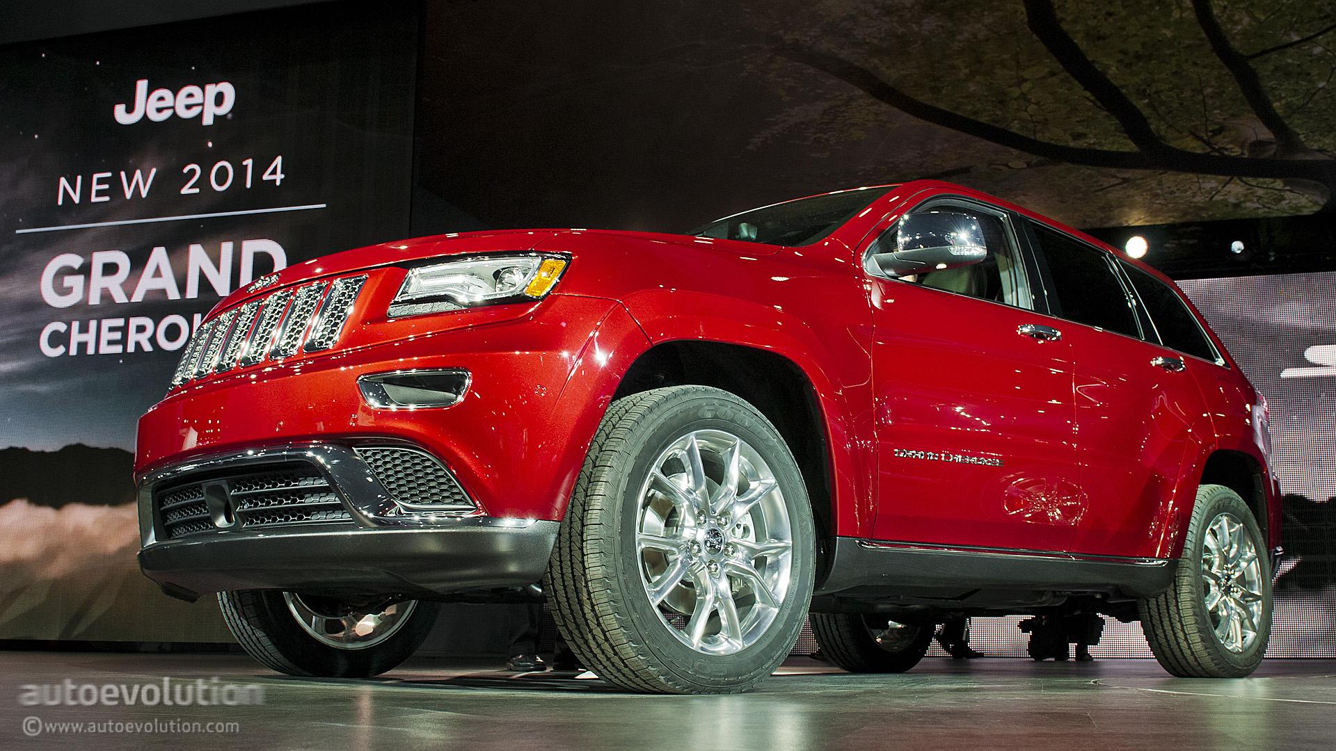 2013 NAIAS: Jeep Grand Cherokee Diesel - Live Photos