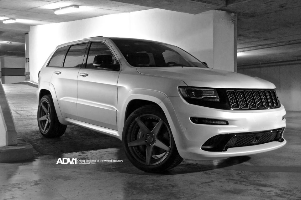 cherokee jeep grand srt8 wheels adv srt wheel autoevolution concave 20x10 gets adv5 v2 suv spoke accessories sport tuning cars