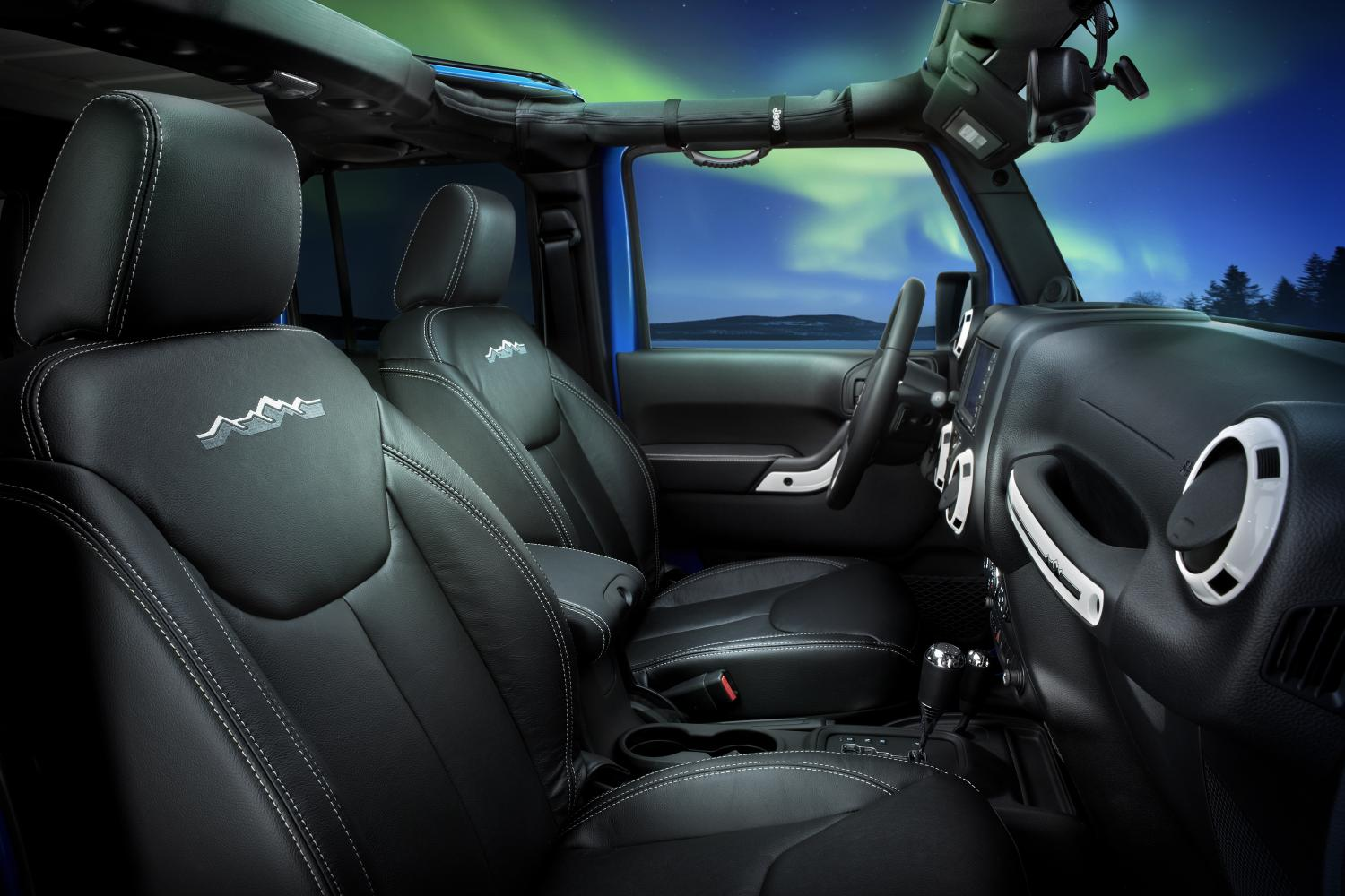 2014 Jeep Wrangler Polar Edition Launches In North America Jk Leather Seats