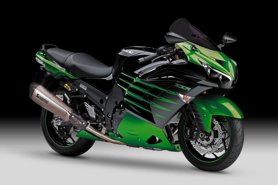 2014 Kawasaki ZZR 1400 Performance Sport Shows Up, Drool Mode