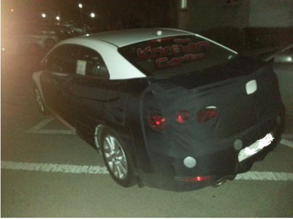 2014 Kia Forte Koup K3 Spotted In Korea