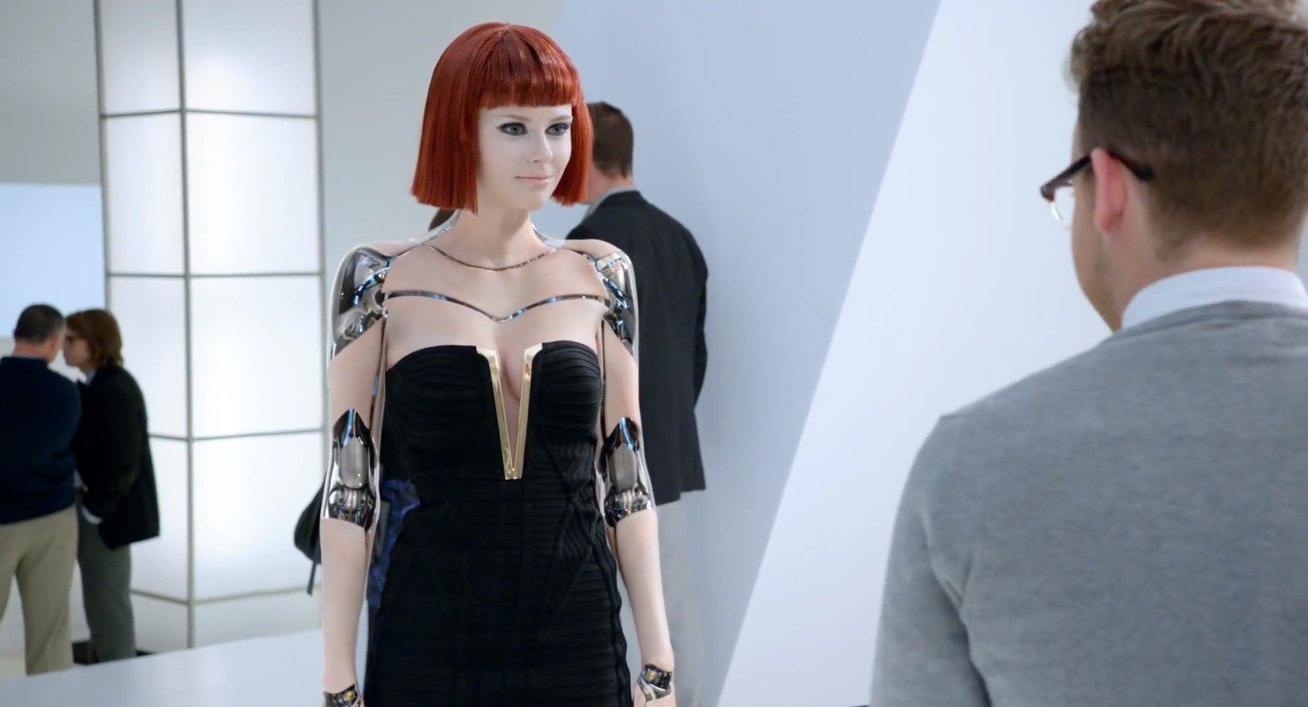 2014 Kia Forte Super Bowl Commercial Sexy Robot Girls