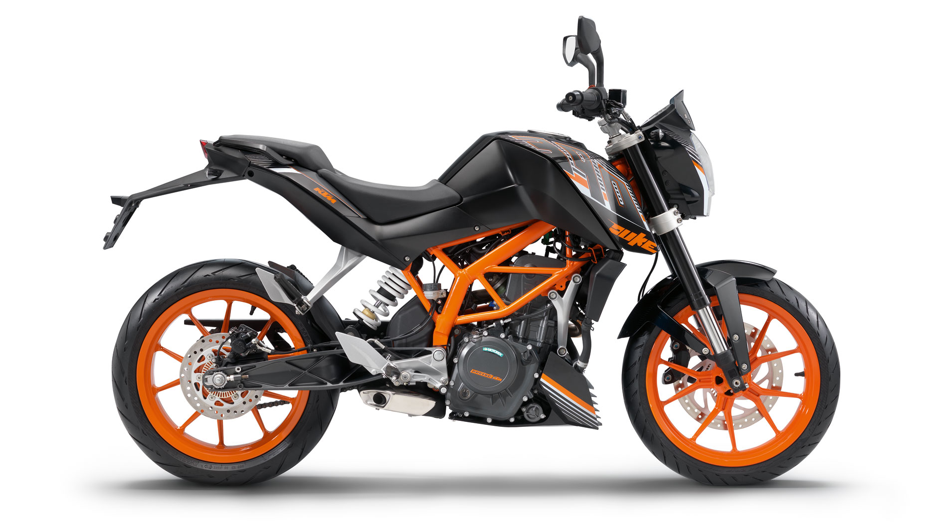 2014 ktm 390 duke abs in black trim price announced. Black Bedroom Furniture Sets. Home Design Ideas