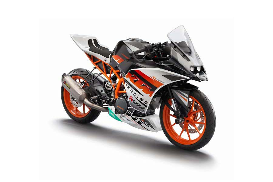 2014 KTM RC125, RC200 and RC390 Pics Leaked, Prices Expected - autoevolution