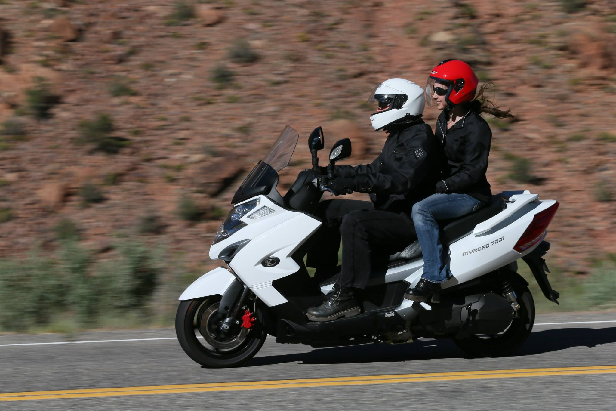 2014 Kymco Myroad 700i Is The Largest Displacement Us