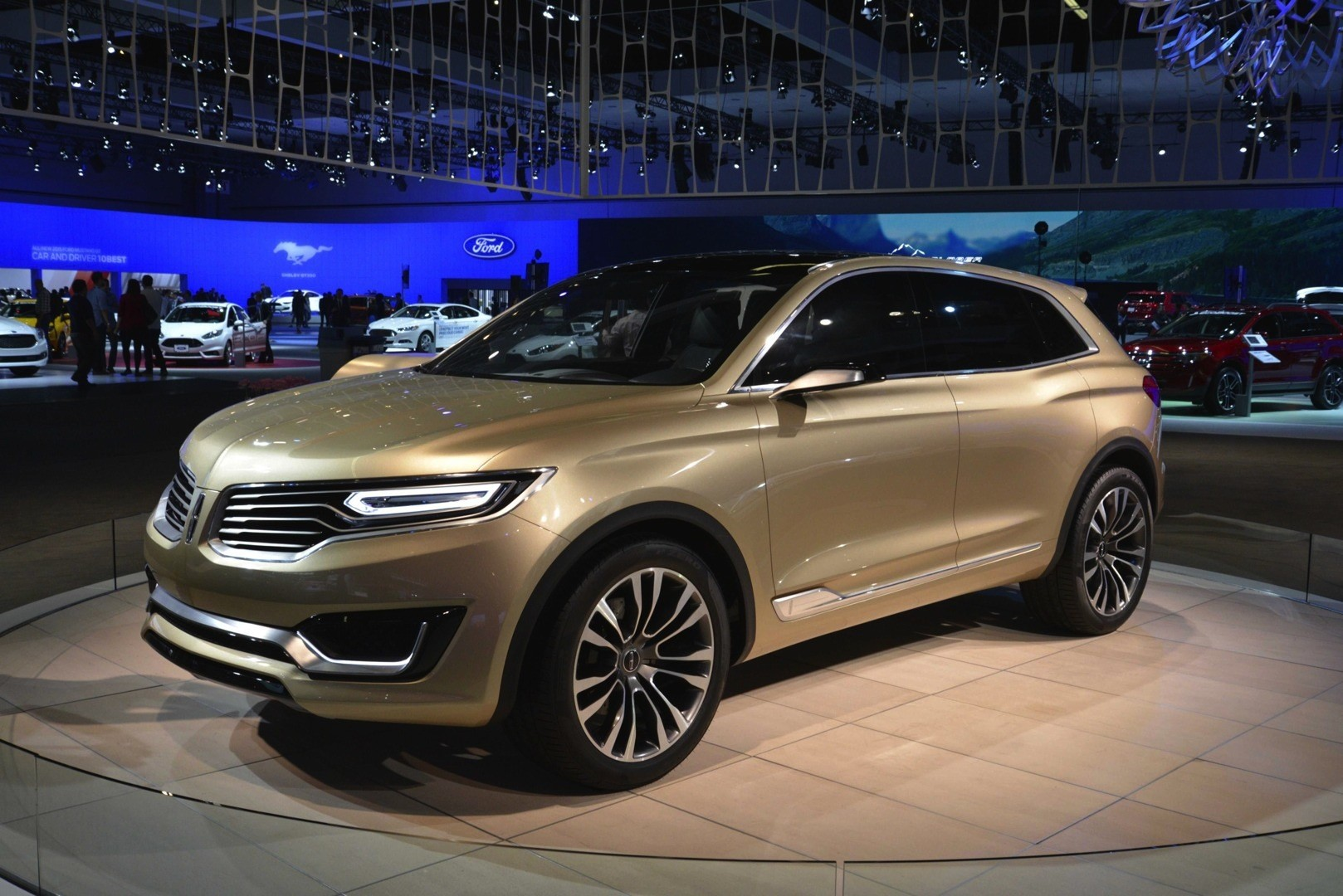 lincoln mkx concept at the 2014 los angeles auto show